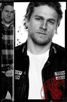 Charlie Hunnam - Sons of Anarchy - SOA.. If u don't watch SOA.. This is what ur missing