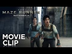 Are you as excited for #TheMazeRunner as we are? Check out this clip where Thomas (#DylanO'Brien) and Minho (#KiHongLee) try to escape the maze!