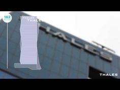Thales goes sky high at La Defense - YouTube