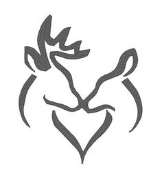 Home :: Designs :: Misc :: Deer Silhouette Hirsch Silhouette, Deer Head Silhouette, Silhouette Clip Art, Silhouette Projects, Hunting Decal, Deer Drawing, Antler Art, Deer Design, Deer Art