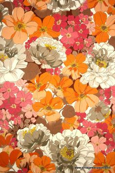 Original retro wallpaper & vinyl wallcovering from the sixties & seventies - A unique collection of original 1950's to 1980's wallpapers for... // 40 euro