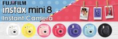 Fujifilm Instax Mini 8, Instant Camera, Colours, Till Death, Fun, Photography, Ecuador, Giveaways, Chile