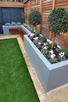 Back Garden Design, Modern Garden Design, Backyard Garden Design, Patio Design, Backyard Patio, Landscape Design, Backyard Ideas, Landscape Architecture, Modern Backyard