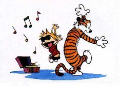 calvin and hobbs dance