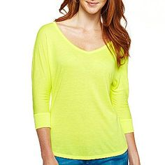 a.n.a® 3/4-Sleeve Whisper Tee - jcpenney