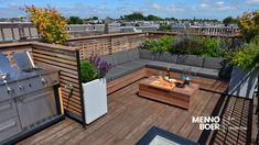 [dev] Exclusieve daktuin in Amsterdam-West voorzien van alle gemakken Amsterdam, Rooftop Design, Lounge, Outdoor Furniture Sets, Outdoor Decor, Home Renovation, Outdoor Living, Loft, Patio