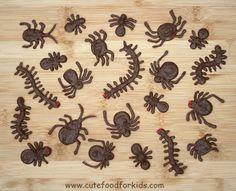Chocolate Bugs · Edible Crafts | CraftGossip.com