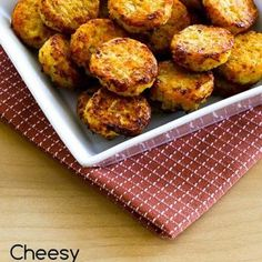 Cheesy Baked Cauliflower Tots (Low-Carb, Gluten-Free)