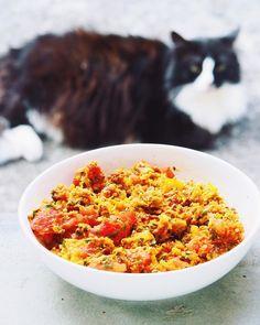 Salade de crudités et lentilles corail, vegan et sans gluten - Lily tasty