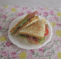 1/12th scale - BLT sandwiches