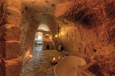 El hotel de las cavernas, pura originalidad