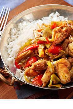 Tender chicken thighs meet with deliciously authentic Chinese flavours in this spicy main that can be rustled up in no time for new year feasting.