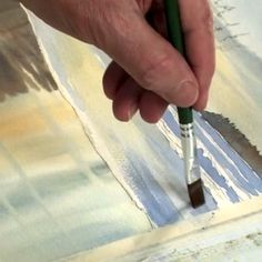 Learn how to paint seascapes in your watercolor art with these fabulous painting techniques, using four different kinds of washes.