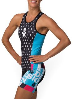 Jacquard 2 Tri Short - Betty Designs - Betty Designs...this looks good for the big race..?