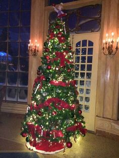 Beast's Castle - Be Our Guest Tree!
