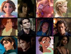 Love it! Especially that Damon is like Flynn Ryder (: <3