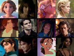 Love it! Especially that Damon is like Flynn Ryder (: <3