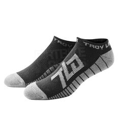 Troy Lee Designs Socks BMX MTB DH Downhill Cycling STARBURST ANKLE BLACK 3 PACK