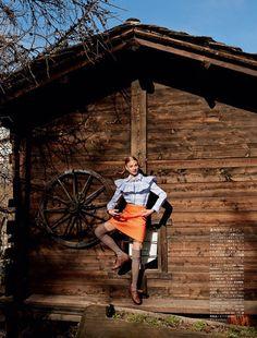 前回のブログのVogue Russiaの誌面のモデルさんアンナ・セレズネヴァ (ロシア・モスクワのご出身の1990年生まれ)日本のVogueにも去年、登場し…