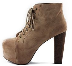 Tilted Sole - Jeffrey Campbell:  Lita - Taupe Suede, $160.00 (http://www.tiltedsole.com/jeffrey-campbell-lita-taupe-suede/)