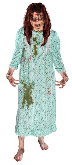 The The Exorcist Demonic Regan Costume is the best 2019 Halloween costume for you to get! Everyone will love this Womens costume that you picked up from Wholesale Halloween Costumes! Adult Costumes, Costumes For Women, Costume Ideas, Zombie Costumes, Halloween Costumes For Sale, Halloween Ideas, Halloween Party, Halloween 2019, Costumes