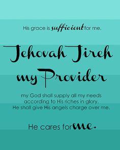 Jehovah Jireh $5.00