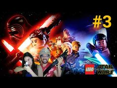 Lego STAR WARS   Misión 2 (parte 2) y misión 3   Pantalla dividida.
