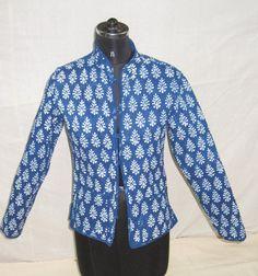 Vintage kantha Jacket Block Print Kantha by Ayatcreation on Etsy, $44.99