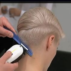 how to cut a pompadour yourself