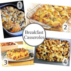 overnight breakfast casseroles-perfect for Christmas morning