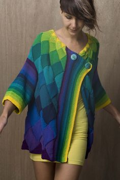 Ravelry: Art Deco Cardigan pattern by Helen Hamann