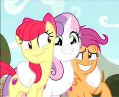 the cutie mark crusaders my little pony - my little pony cutie mark crusaders My Little Pony Cartoon, My Little Pony Pictures, Mlp Twilight, Twilight Sparkle, Princesa Celestia, Sweetie Belle, Little Poni, Mlp Pony, Unicorn Art