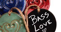 Bass Hearts are a perfect gift for people who are passionate about bass music and festivals. Shop an assortment of beautiful glaze colors on handmade ceramics Music Lovers, Festivals, Glaze, Bass, Hearts, Ceramics, Colors, Shop, People