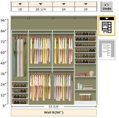closet design: