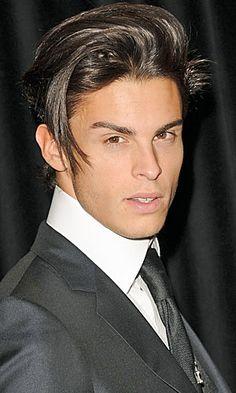 Chanel model Baptiste Giabiconi