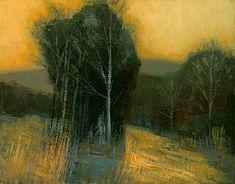 Brent Watkinson  -  Golden Sky, 30 x 40