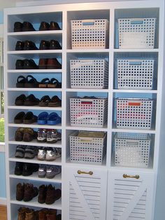 96 SHOE AND BASKET STORAGE DRESSING ROOM by ronnyholley, via Flickr