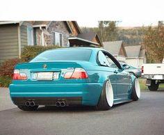 BMW E46 M3 tiel deep dish slammed