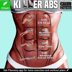 Tutorials Gym Tips on Total Abs and more routines, tag som. -Fitness Tutorials Gym Tips on Total Abs and more routines, tag som. Killer Ab Workouts, Killer Abs, Gym Workouts, At Home Workouts, Workout Exercises, Tummy Exercises, Total Ab Workout, 15 Minute Workout, Daily Exercise Routines
