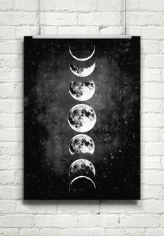 Moon Painting, Painting & Drawing, Painting Inspiration, Art Inspo, Style Inspiration, Moon Art, Moon Moon, Moon Phases Art, Full Moon