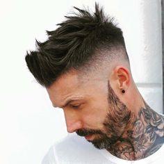 Hair style men Beard style