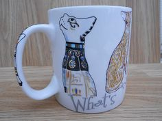 CARDEW, WHATS NEW PUSSY CAT MUG, MADE IN ENGLAND