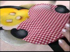 ▶ MULHER.COM 30/10/2012 ELIANA ROLIM - PINTURA EN TECIDO COM PATCHOLAGEM EM 3D 02 - YouTube