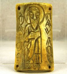 Byzantine Bone Christian Icon