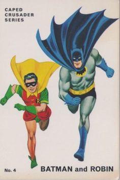 Vintage Batman Card - Visit to grab an amazing super hero shirt now on sale! Batman Robin, Batgirl And Robin, Batman 1966, Batman And Superman, Dc Comics, Robin Comics, Marvel Comics Superheroes, Batman Comics, Batman Comic Books