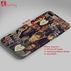 American Horror Story Evan Peters Collage - Personalized iPhone 7 Case, iPhone 6/6S Plus, 5 5S SE, 7S Plus, Samsung Galaxy S5 S6 S7 S8 Case, and Other