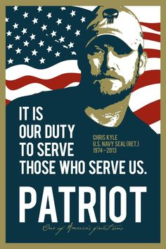 RIP Chris Kyle and God bless you great warrior. Most amazing solider ever.  Hardest job too. Sad that he is no longer with us when he was helping other veterans get back to a new normal life.