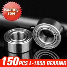 >> Click to Buy << 150pcs L-1050ZZ Bearing 10x5x4mm Bearings For Rear Wheels Transmissions Electrical Components Hardware Accessories #Affiliate