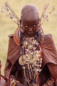 Africa |  Masai Bride