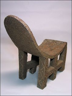"Ngombe chair ""Ekele"" from DRC - RAND AFRICAN ART"